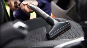 Car Detailing Vacuuming Interior